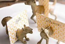 Bryllup bordkort