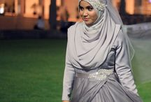 hijab style for wedding
