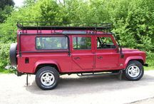 Conversions / We carry out a wide variety of conversions to Land Rover Defenders and anything is possible!