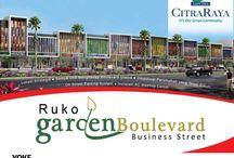 RUKO Garden Boulevard / RUKO Garden Boulevard - Business Street @ Citra Raya - in front of Cluster GardenVille