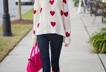 Valentine's Day Fashion / Ever wonder what to wear on for your Valentine's Day celebrations? Look no further than this board filled with casual fashion, dressy fashion, maternity fashion, and semi-casual fashion. See how to style the best Valentine's Day fashion looks.