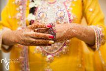Indian Wedding / Beautiful colors of an Indian wedding