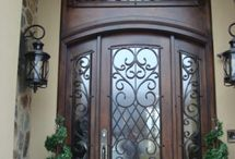 Front Door / Door styles - Wooden or not