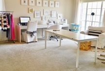 sewing studio / by Sandra Royalty