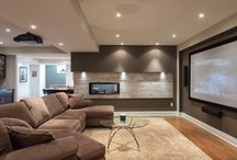 Home Theatres / Creating the perfect atmosphere for watching sporting events, cartoons or the latest thriller requires more than just a comfy couch and popcorn – you need the right lighting. Not only are dimmers a must for any TV area, why not also consider adding low-ambient floor lighting? Looking for the latest television and sound system on the market? Ask your Licensed Electrical Contractor if you need extra circuits or to increase power requirements.