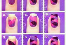 eyes, lips, & nails / by Jennifer Watson