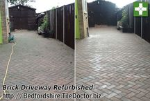 Driveway Tile Cleaning