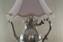 silver teapots re-used