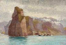 Carl Ludvig Thilson Locher - Danish Artist
