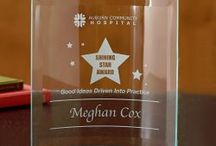 Recognition + Awards / Award and Recognition plaques for all occasions.