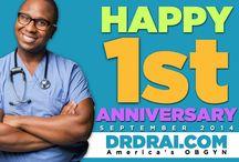 Happy Anniversary to America's OBGYN- Dr. Drai!