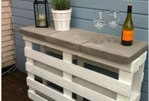 Patio sippin / Decor ideas