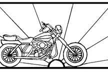 Patterns:  Motorcycle / Motorcycles