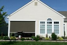 Summer Outdoor Window Treatment Ideas