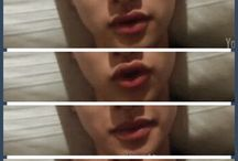 kyungsoo's lips