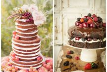 Lovely naked cake