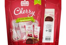 Dark Chocolate Covered Cherries, 6 Oz Bag / Dark Chocolate Covered Cherries, Individually Wrapped in a 6 oz Bag. Our sweet dark cherries bathed in premium dark chocolate offer a heavenly combination of flavors that are sure to elevate your spirit!