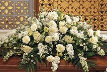 Funeral flowers / Sorgbinderi