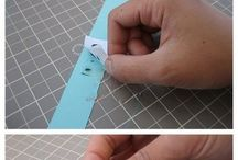 How to make rubbons / How to make ribbons