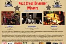 NEXT GREAT DRUMMER INT'L WINNER / Beginner Level Winner is M.Ghivary Zerevan of Indonesia   http://www.youtube.com/watch?v=t-JLdui3GfQ