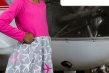 Airplane Girl Clothes / Clothes such as dresses, leggings, shorts, and shirts for girls who love all things airplanes!