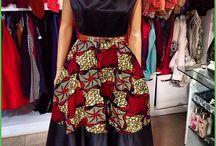 model baju afrika