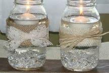 Burlap and Lace wedding<3