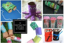 Toilet Paper Roll Craft Ideas / DIY Toilet Roll Craft and Activities for Kids