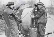 Electrical Power - Archive Cable Jointing Photographs / Digging deep into the online archive we have unearthed the following fascinating photographs of bygone power and telecommunication cable installations from the UK.