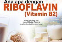 Riboflavin / Riboflavin (vitamin B2) tercatat dalam sebuah tulisan ringkas yang menghimpunkan pengenalan hampir semua vitamin bertajuk  Every Vitamin Page: All Vitamin and Pseudo-Vitamins oleh David Bannett. Beliau menulis riboflavin merupakan nama kimia bagi vitamin B2 dari kumpulan vitamin B dan sebelum ini dikenali juga sebagai vitamin G.