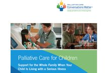 Palliative Care / Palliative (pal-lee-uh-tiv) care is comprehensive treatment of the discomfort, symptoms and stress of serious illness. It is a key part of care for children living with a serious illness and an important source of support for their families.