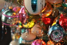 glass balls retro vintage