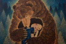 медведь и я