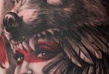 wolfie tatoo