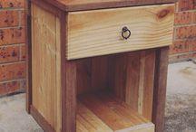 Merbau +pine furniture