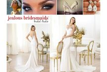 Bridal Inspiration / Here are a couple of bridal looks the JB staff have pulled together for  you on your big day! Whether its the question of hair up or down, or if you want a long or short veil, we have got you covered!