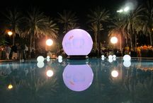 Corporate Events / A unique way to light a space or area. Visit www.airstarevents.com for more info.