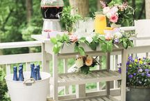 Outdoor Party Inspiration Ideas / by Martha Stewart Weddings