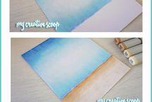 watercolor pencil/aquarell ceruza