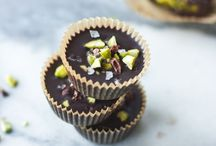 Chocolate / Healthy chocolate recipes pinned by Loveleaf Co. Many vegan, gluten free, dairy free, and paleo.