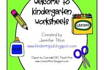 kindergarten / If I ever become a kindergarten teacher / by Stephanie Margolis