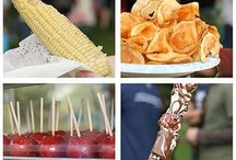 Festival Food / Food that's delicious and easy to eat on the go. Anything yummy you'd find at a festival, concert or other venue.