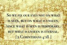 Scripture / Scripture verses illustrated