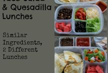 lunchbox / I have two in school, and they don't care for school lunches at all. These are lunchbox ideas for packing lunches for school (and work!)