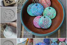 air dray clay and similar...inspiration