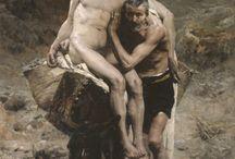 """Le bon samaritain"" Morot 1880"