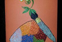 Card a tema Quilling / L'arte del quilling