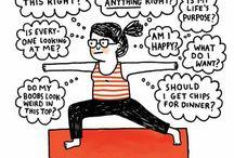 Yoga-humor