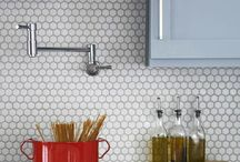 penny rounds / penny tile are what we call an essential tile. whether you pair it with subway tile or your favorite cement tile pattern this board is full of bathroom and kitchen design inspirations. happy tiling!