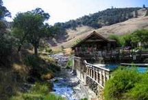 Wilbur Hot Springs / Wilbur Hot Springs is an off-grid, solar-powered destination resort with naturally occurring hot mineral springs located in the heart of an 1800-acre Nature Preserve. The Fluminarium is an open-air onsen with three long flumes of volcanic mineral water with temperatures ranging from 98-110 degrees Fahrenheit. Traditionally, the waters are used for healing and detoxification. www.wilburhotsprings.com www.facebook.com/WilburHotSprings / by Wilbur Hot Springs